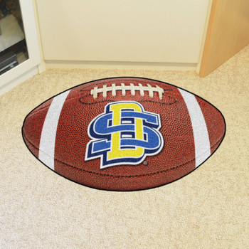 """20.5"""" x 32.5"""" South Dakota State University Football Shape Mat"""