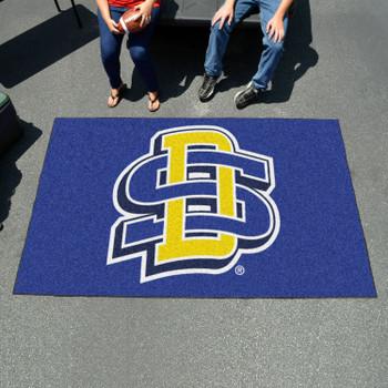 "59.5"" x 94.5"" South Dakota State University Blue Rectangle Ulti Mat"