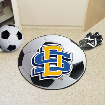 "27"" South Dakota State University Soccer Ball Round Mat"