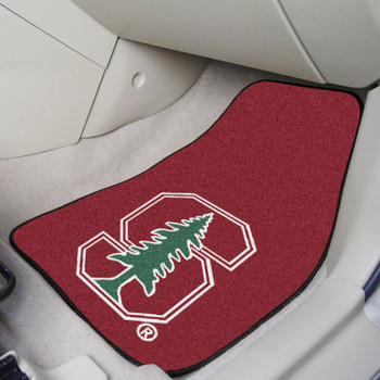 Stanford University Red Carpet Car Mat, Set of 2