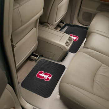 Stanford University Heavy Duty Vinyl Car Utility Mats, Set of 2