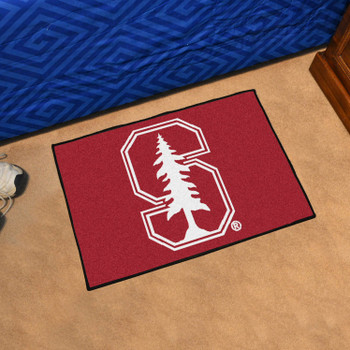 "19"" x 30"" Stanford University Red Rectangle Starter Mat"