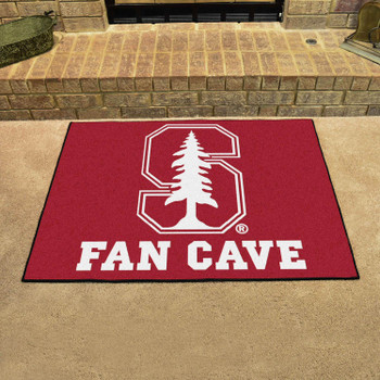 Stanford University Fan Cave All-Star Red Rectangle Mat