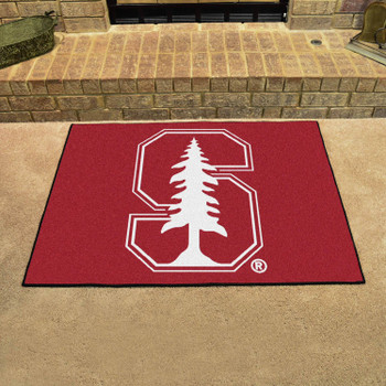 "33.75"" x 42.5"" Stanford University All Star Red Rectangle Mat"