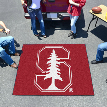 "59.5"" x 71"" Stanford University Red Tailgater Mat"