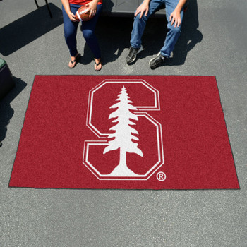 "59.5"" x 94.5"" Stanford University Red Rectangle Ulti Mat"