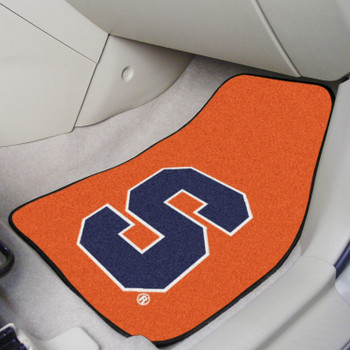 Syracuse University Carpet Car Mat, Set of 2