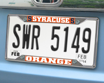Syracuse University License Plate Frame