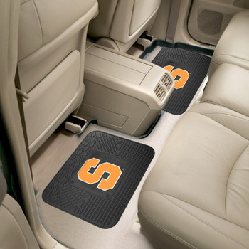 Syracuse University Heavy Duty Vinyl Car Utility Mats, Set of 2