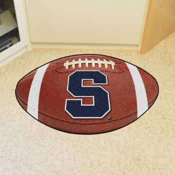 "20.5"" x 32.5"" Syracuse University Football Shape Mat"