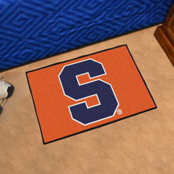 "19"" x 30"" Syracuse University Orange Rectangle Starter Mat"