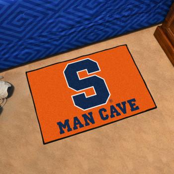 "19"" x 30"" Syracuse University Man Cave Starter Orange Rectangle Mat"