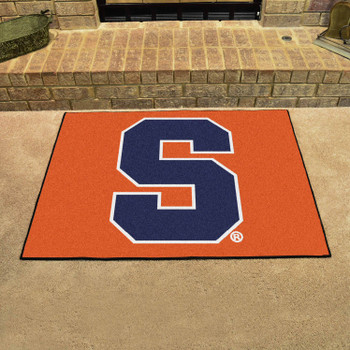 "33.75"" x 42.5"" Syracuse University All Star Orange Rectangle Mat"