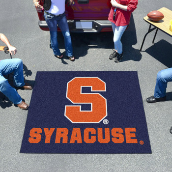 "59.5"" x 71"" Syracuse University Blue Tailgater Mat"