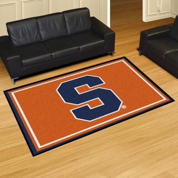 5' x 8' Syracuse University Orange Rectangle Rug