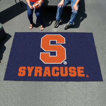 "59.5"" x 94.5"" Syracuse University Blue Rectangle Ulti Mat"
