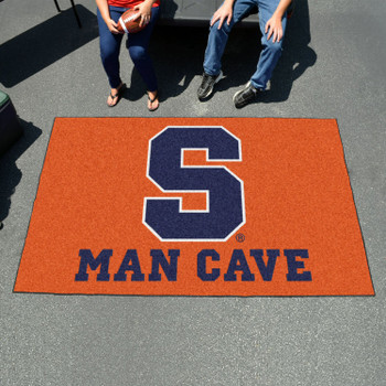 "59.5"" x 94.5"" Syracuse University Man Cave Orange Rectangle Ulti Mat"
