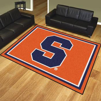 8' x 10' Syracuse University Orange Rectangle Rug