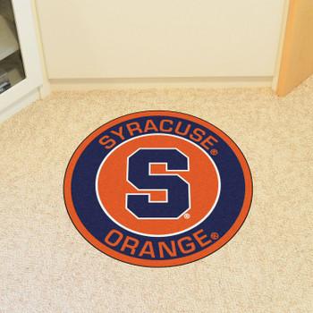 """27"""" Syracuse University Roundel Round Mat"""