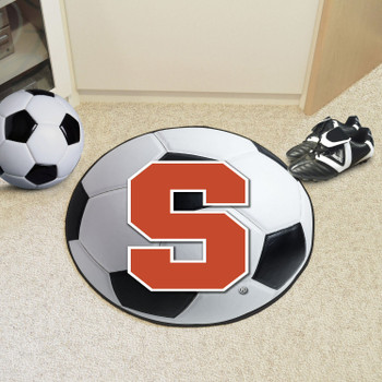 "27"" Syracuse University Soccer Ball Round Mat"