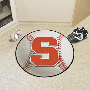 """27"""" Syracuse University Baseball Style Round Mat"""