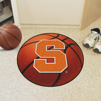 "27"" Syracuse University Basketball Style Round Mat"