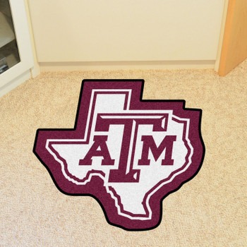 "Texas A&M University Mascot Mat - ""ATM"" Logo"