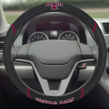 Texas A&M University Steering Wheel Cover