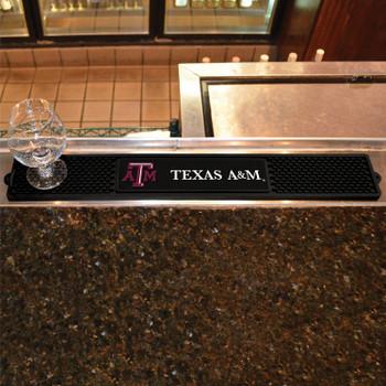 Texas A&M University Vinyl Drink Mat