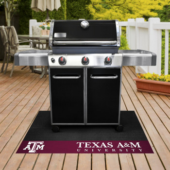 "26"" x 42"" Texas A&M University Grill Mat"