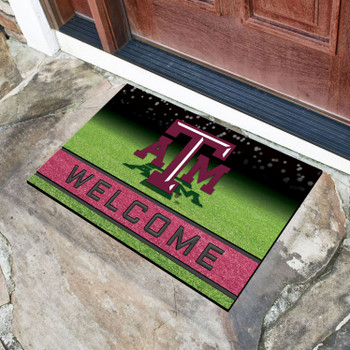 "18"" x 30"" Texas A&M University Crumb Rubber Door Mat"