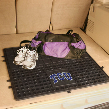 "31"" Texas Christian University Heavy Duty Vinyl Cargo Trunk Mat"