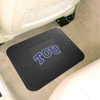 "14"" x 17"" Texas Christian University Car Utility Mat"