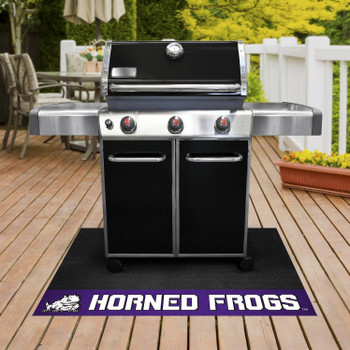"26"" x 42"" Texas Christian University Grill Mat"