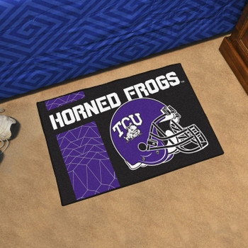 "19"" x 30"" Texas Christian University Uniform Purple Rectangle Starter Mat"