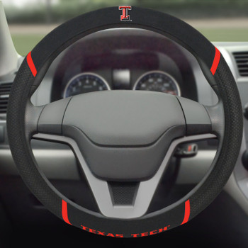 Texas Tech University Steering Wheel Cover