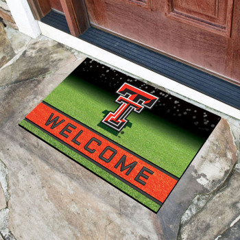 "18"" x 30"" Texas Tech University Crumb Rubber Door Mat"