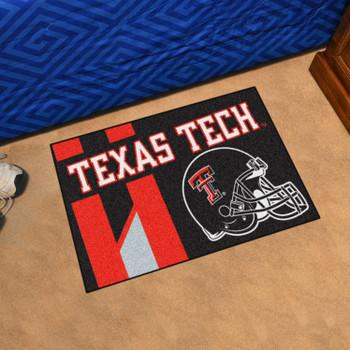 """19"""" x 30"""" Texas Tech University Uniform Red Rectangle Starter Mat"""