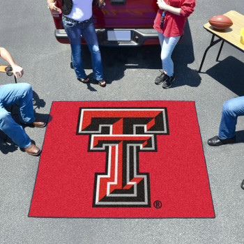 "59.5"" x 71"" Texas Tech University Red Tailgater Mat"