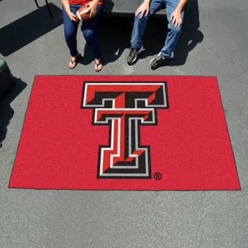 "59.5"" x 94.5"" Texas Tech University Red Rectangle Ulti Mat"