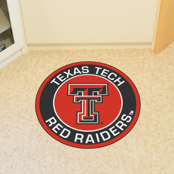 "27"" Texas Tech University Roundel Round Mat"