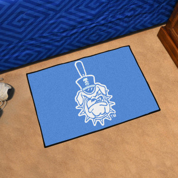 "19"" x 30"" The Citadel Blue Rectangle Starter Mat"