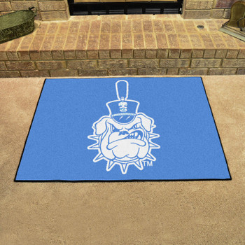 "33.75"" x 42.5"" The Citadel All Star Blue Rectangle Mat"