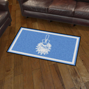 3' x 5' The Citadel Blue Rectangle Rug