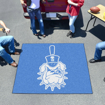 "59.5"" x 71"" The Citadel Blue Tailgater Mat"