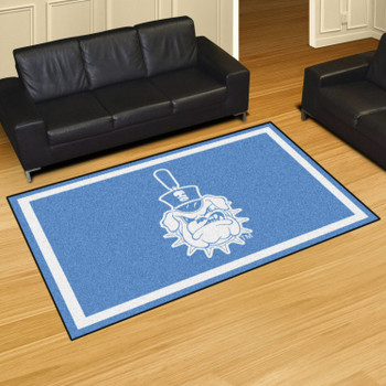 5' x 8' The Citadel Blue Rectangle Rug