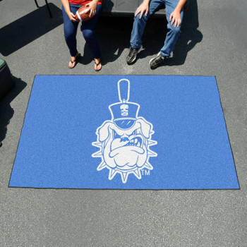 "59.5"" x 94.5"" The Citadel Blue Rectangle Ulti Mat"