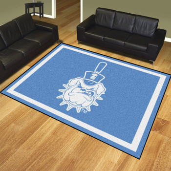 8' x 10' The Citadel Blue Rectangle Rug