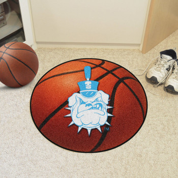 "27"" The Citadel Basketball Style Round Mat"