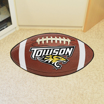 "20.5"" x 32.5"" Towson University Football Shape Mat"